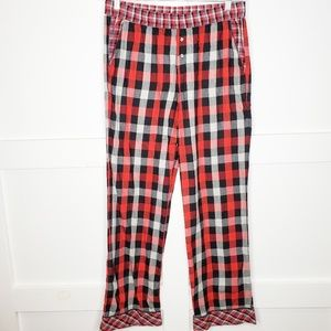 Victoria Secret Plaid Flannel Pajama Pants Small